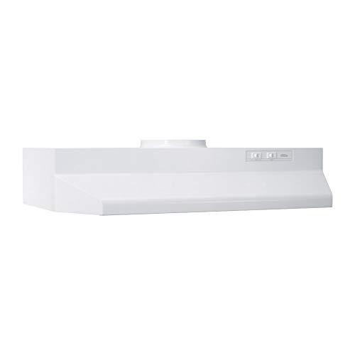 Broan-NuTone 423601 Under Cabinet Range Hood, 36-Inch, White