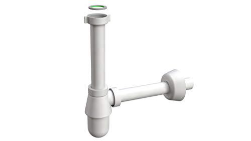 Siphonly® Design Flaschensiphon für Waschtische | Exclusiver Geruchsverschluss für Ihr Waschbecken | 5/4