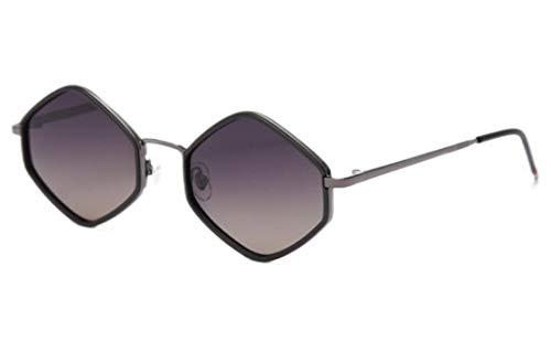 Gafas De Sol Mujeres Rhombus Pequeños Gafas De Sol Hombres Polarizados Femeninas Vintage Vintage Gafas para Las Mujeres Que Conducen El Marco De Metal Uv400 Ultralight Al Aire Libre Deportes