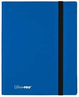 Pacific Blue Ultra Pro 9 Pocket Eclipse Pro Binder Soft Plastic Card Storage Binder Portfolio Album