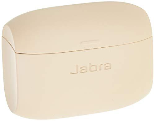 Jabra 完全ワイヤレスイヤホン充電ケース Elite 65t用 ゴールドベージュ シリコーンラバーコーティング 10時間分充電 【国内正規品】 小型