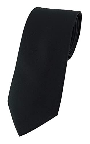 TigerTie - Corbata - negro monocromo