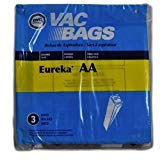 Eureka Victory AA Vacuum Cleaner Bags, DVC Replacement Brand, designed to fit Eureka Victory Upright Vacuum Cleaner Models 4300 & 4400 Series, 3 bags in pack