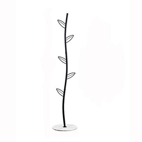 Jixi Perchero de metal con forma de árbol, para sombreros y abrigos, 5 ganchos para ropa, para el pasillo, etc.