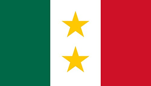magFlags Bandera XL Coahuila y Tejas | Possible Flag for The Mexican State of en Coahuila y Tejas 1821-1836 - Colours and Dimensions Based on Image Flag of Mexico | Bandera Paisaje | 2.16m²