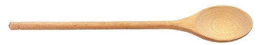Tescoma 637316 Woody Cucchiaio Ovale, Legno Naturale, 35 cm