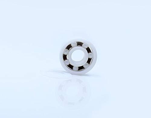 L-MEIQUN, 1PC 15 * 28 * 7 mm P5 6902RS Doble Sellado a Prueba de Polvo RS 6902 2RS cerámica rodamientos de Bolas 6902CE 6902 Completo ZrO2 cojinete de cerámica