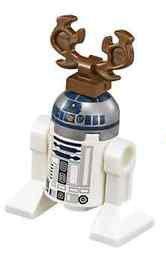 LEGO Original renos R2-D2 Minifigura Droide (sin embalaje) SPLIT de 2015 Star Wars Calendario de Adviento de Navidad