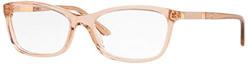 Versace 0VE3186 Monturas de gafas, Transparente Brown, 54 para Mujer