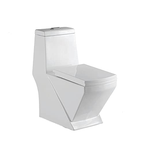 Preks One-Piece Toilet Western Commode For Bathroom (S-Trap)