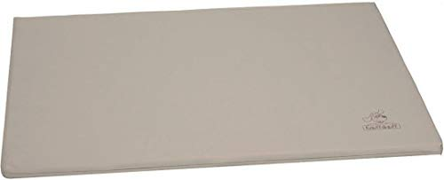 Knuffelwuff Tapis pour chien Puffin, en cuir, taupe XL 105 x 75cm