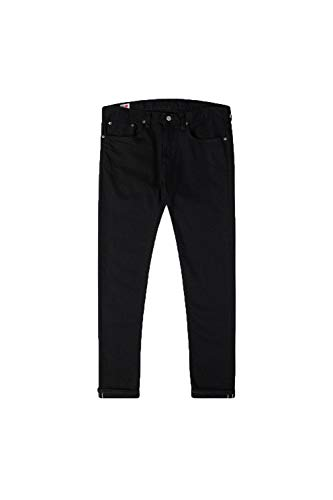Edwin Men's Slim Tapered Kaihara Jeans - Black Rinsed - W34/L32