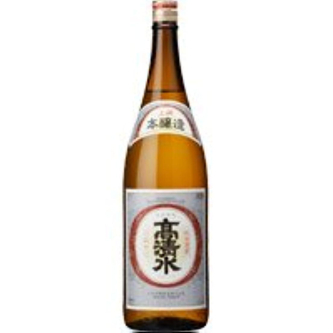 溶かすどこでも哲学的上撰 高清水 本醸造(秋田) 1.8L 1本