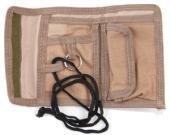 Army Outdoor Geldbeutel mit Klettverschluss Portmonee Geldtasche Woodland oder Desert (3 Farben Desert)