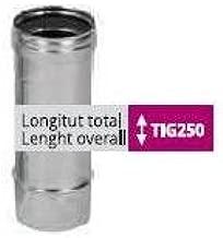 304 Bofill /Ø 100x250mm Tubo acero inoxidable Simple Pared AISI
