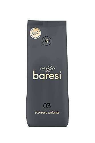 Caffè Baresi Espresso Galante *Limited Edition* mit Perlbohnen/Peaberries aus Papua Neuguinea, 1kg, ganze Bohne, ideal für Kaffee aus Siebträger, Vollautomaten & Espressokocher