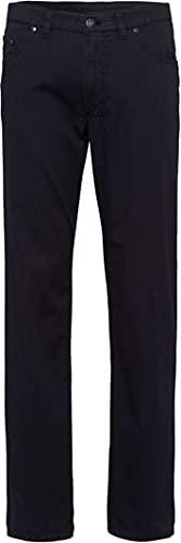 BRAX Eurex by Jeans Dehnbund Herren Regular Fit Jeans Hose Style Carlos Stretch Elastischer Bund - Regular Fit, Stretch, normaler Bund Perma Blue 36/32