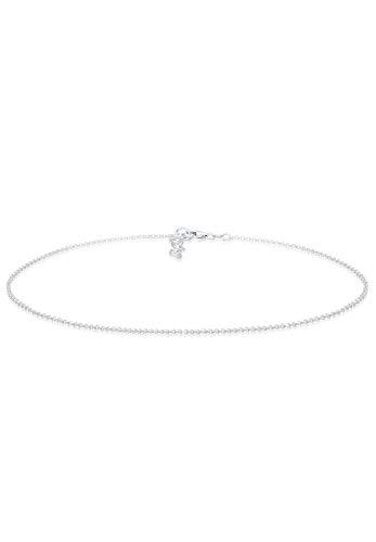 Elli Halskette Damen Basic Kette Choker in 925 Sterling Silber