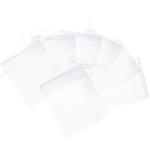 ENET 200 x lege theezakjes, theezakjes & snoer, Heal Seal filterpapier voor losse thee