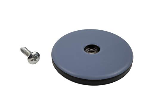 DFM - Protectores de teflón para muebles (4 unidades, 50 mm de diámetro, 5 mm de grosor)