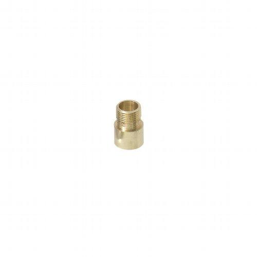 Verlängerungsstück Messing, für Türstärken ab 58 mm, Verlängerung 10-15 mm, Gewinde M12, optional zu TS 680 Türspion (Messing)