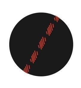 MediaDevil HTC Desire 310 Lederhülle (Schwarz mit roten Nähten) - Artisanpouch Hülle aus echtem europäischen Leder mit Ausziehlasche