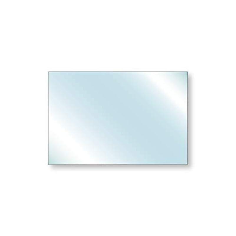 不利延ばす考え透明ガラス 厚み6mm 600×400mm 四角形 アラズリ サイズオーダー対応