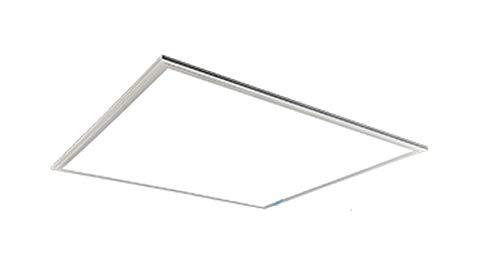 Beghelli Lampada Pannello Led, 60 x 60 cm Quadrato, Plafoniera Incasso, Potenza 36W Luce Naturale 4000 K, Alimentatore Incluso, 70081