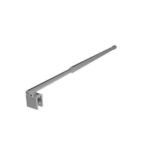 Haltestange Edelstahl Stabilisator 120mm ausziehbare Duschabtrennung Walk-In Duschkabine Glaswand