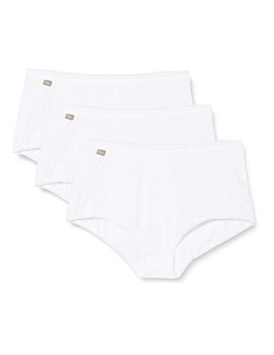 Playtex Coton-Culotte Maxi 2+1 Gratuit, Slip Femme - Blanc - 54