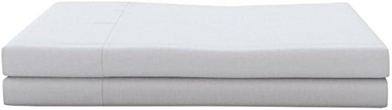 Livingston Home Flat Hotel Linens-Pairs, Full, White
