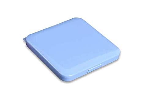 Porta mascherine custodia cover contenitore organizer portatile box tascabile