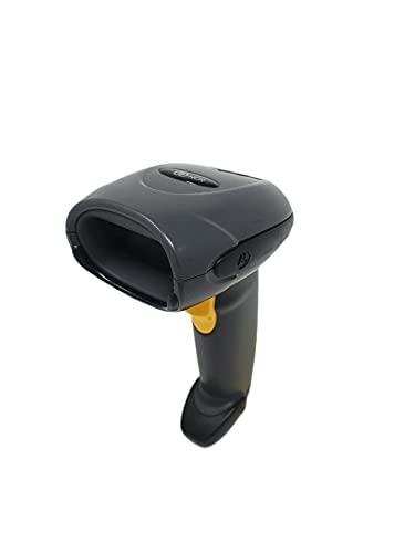 MOTOROLA, DS4208, USB KIT, Includes Scanner (DS4208-SR00007WR) and 7 Foot Straight Shielded USB Cable (CBA-U21-S07ZAR), Black - Model#: DS4208-SBZU0100ZWR (Renewed)