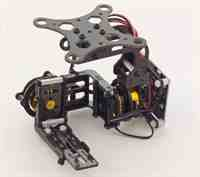 Monstertronic 2 Axis Brushless Gimbal mit Controller für Multicopter