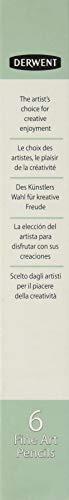 Derwent ダーウェント 水溶性色鉛筆 グラフィティント メドウ 10 ケース6本 0700786 ばら売り 単色 ワックスベース(グラファイト含有) 耐光性100% 芯径4mm 風景画 動物画 肖像画 グラファイト鉛筆