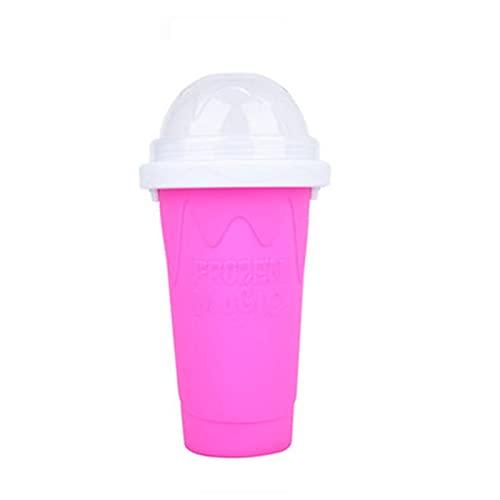 Zhiping Slushie Maker Cup Quick Smoothies Cup Taza de refrigeración de doble capa exprimir taza Slushy Maker hecho en casa