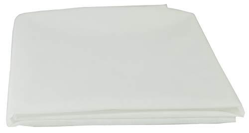 AMF Life Inlett-Vlies, Standard 100 by Oeko-TEX® - Klasse I, waschbar bis 90C°,1,1m x 2m, weiß, Nähvlies, stoffähnlich