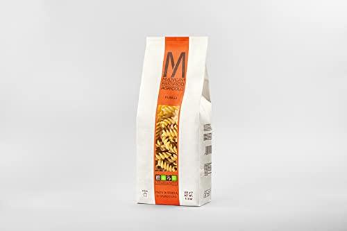 Mancini Pastificio Agricolo - Fusilli 500 gr - 2 x Cajas de 12 paquetes cada una (12 kg)