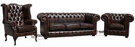 Chesterfield Cuir Suite Offrent