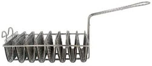 Onesource NEW, 8-Mold, Taco Shell Fry Basket, Tostada Shell Fr Basket, Deep-Fryer Basket