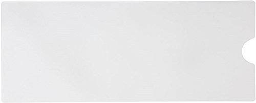 "Safe Way Traction 16"" X 40"" White Adhesive Vinyl Bath Mat"