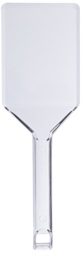Party Essentials N00121 Plastic Serving Spatula, Clear (Case of 48)
