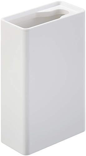 山崎実業(Yamazaki) 流せるトイレブラシスタンド タワー ホワイト 約W5.5XD11XH17cm タワー トイレブラシケース 4855