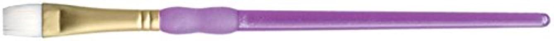 ROYAL BRUSH R9159-12 Crafter's Choice Taklon Shader Brush, Size 12, White