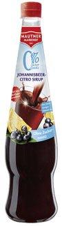 Mautner Markhof sciroppo di ribes limone, 0% di zucchero aggiunto PET - [. Misc] 0.7L