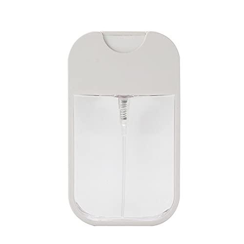 Tatoonly Botella duradera de plástico cuadrada de hidratación portátil de botella de perfume de 38 ml