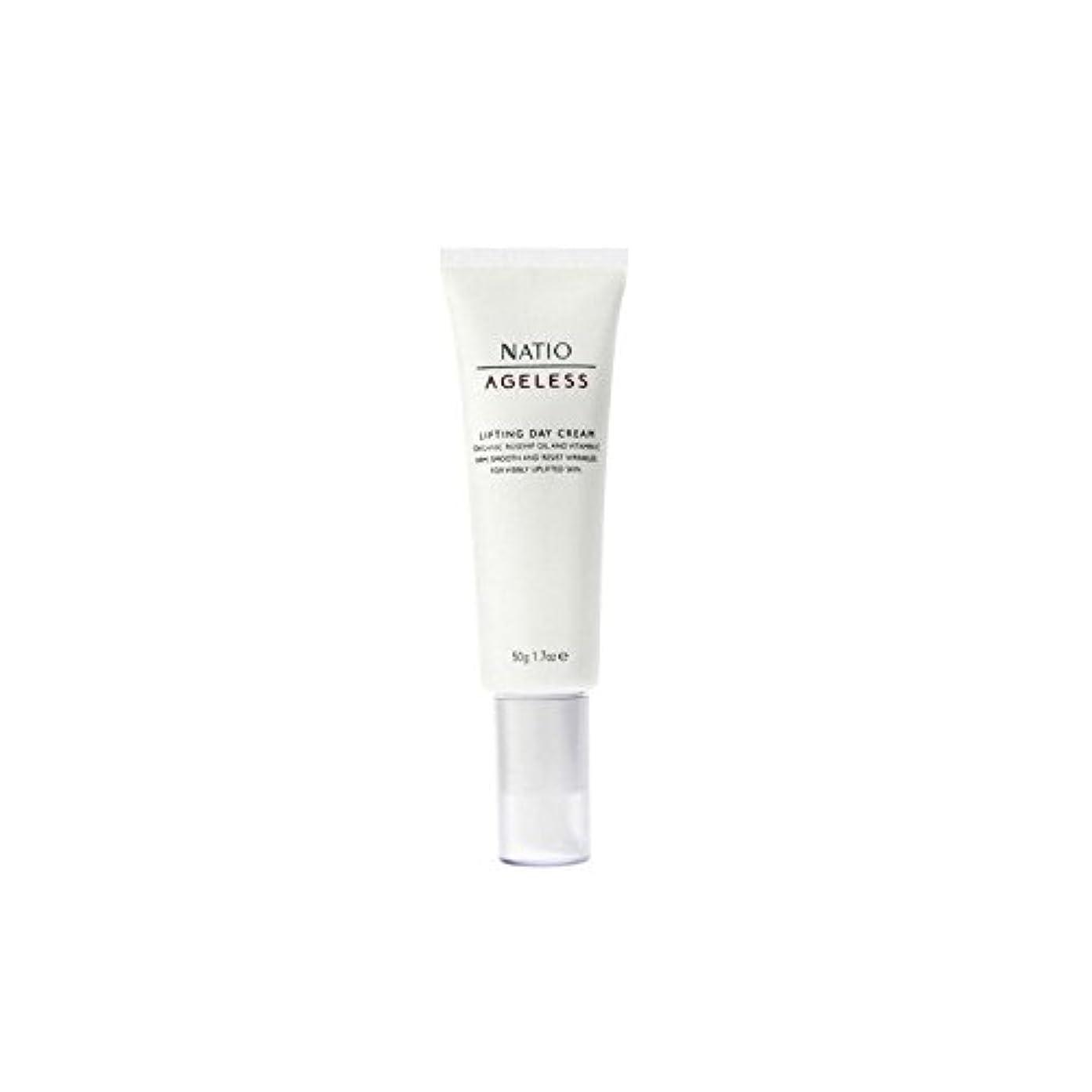 肘耐えられる繰り返すNatio Ageless Lifting Day Cream (50G) (Pack of 6) - 永遠リフティングデイクリーム(50グラム) x6 [並行輸入品]