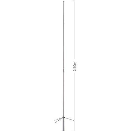 HamKing X-200N2 2m/70cm Dualband Stationsantenne 250cm Länge