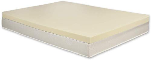 Andric 100% Orthopaedic Memory Foam Mattress Topper | UK Small Double | 3' Thick | Made In UK | Fast Delivery