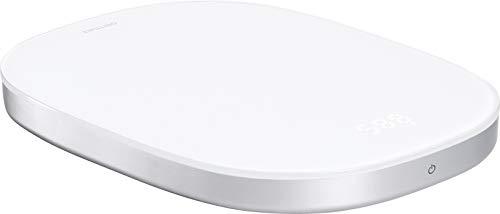 ZWILLING Enfinigy Digitale Küchenwaage mit LCD-Display und Sensor-Touch-Bedienung, USB Aufladefunktion, bis 10 KG, weiß